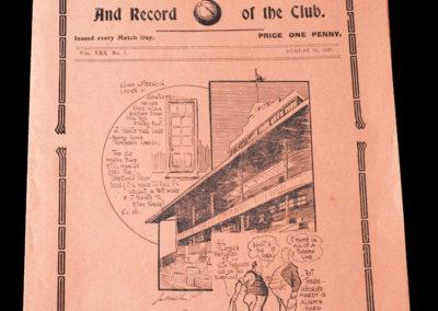 Whites v Stripes 14.08.1937