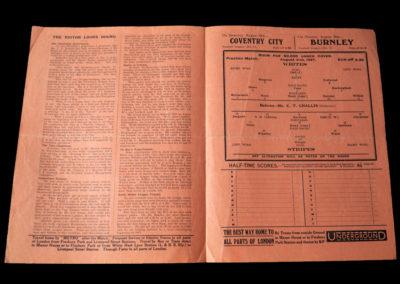 Whites v Stripes 21.08.1937