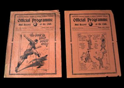 Spurs v Coventry City 28.08.1937   Spurs v Burnley 30.08.1937