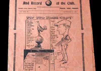 Spurs v Newcastle 11.09.1937