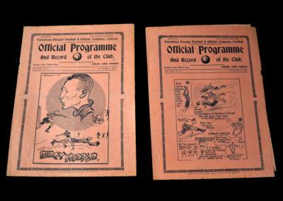 Spurs v Swansea 06.11.1937   Spurs v West Ham 20.11.1937