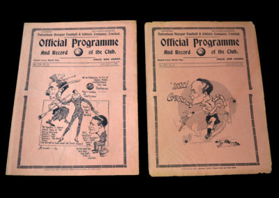 Spurs v Nottingham Forest 15.01.1938   Spurs Reserves v Northampton Reserves 22.01.1938