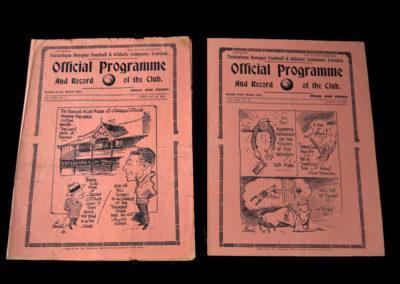 Spurs v Fulham 26.02.1938   Spurs v Chesterfield 12.03.1938