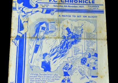 Chelsea v Sunderland 06.11.1937
