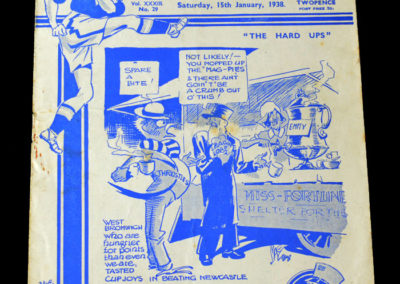 Chelsea v West Brom 15.01.1938