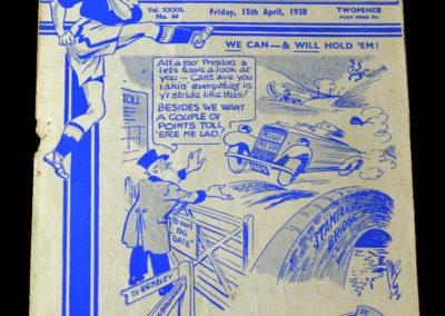 Chelsea v Preston North End 15.04.1938