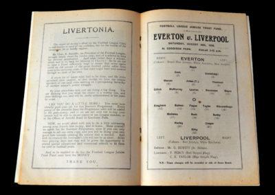 Everton v Liverpool 20.08.1938