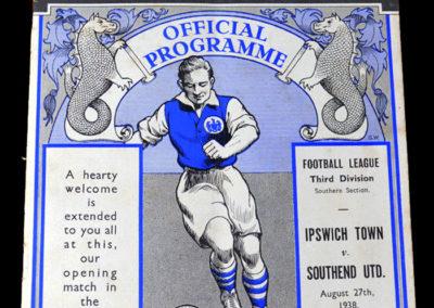 Ipswich v Southend 27.08.1938