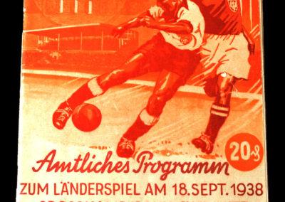 Germany v Poland 18.09.1938