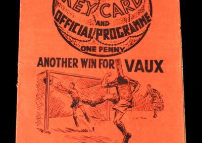 Middlesbrough v Charton 24.09.1938