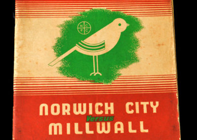 Norwich v Millwall 29.10.1938