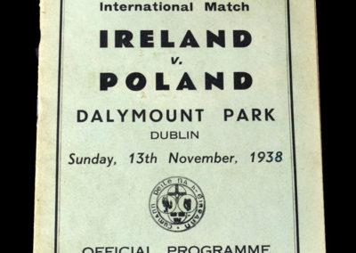 Ireland v Poland 13.11.1938