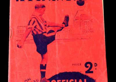 Brentford v Middlesbrough 03.12.1938