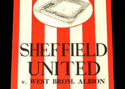 Sheffield United v West Brom 14.01.1939