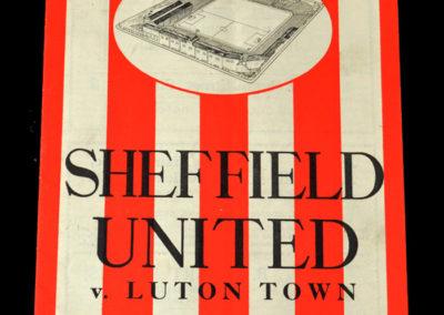 Sheffield Utd v Luton 28.01.1939