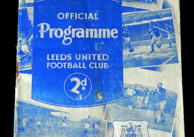 Leeds v Arsenal 11.03.1939