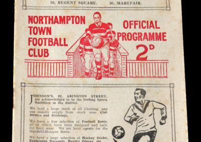 Northampton v Walsall 18.03.1939