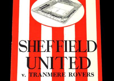 Sheff Utd v Tranmere 25.03.1939