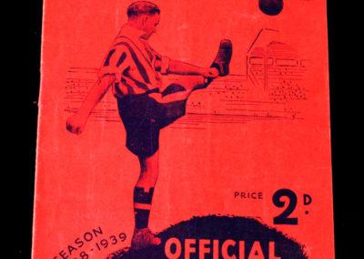 Brentford v Preston 07.04.1939