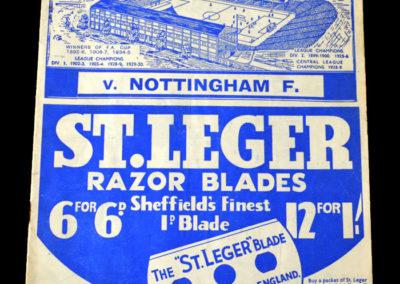 Sheff Wed v Notts Forest 15.04.1939