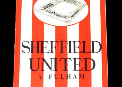 Sheffield United v Fulham 22.04.1939