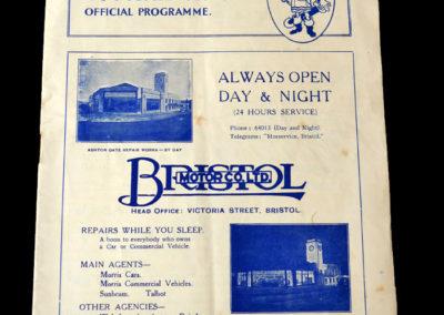 Bristol Rovers v Newport 06.05.1939