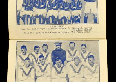1924/1925 Season Triumph Team Photo Albums Alec Jackson Aberdeen Hugh Gallagher Airdrie