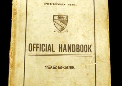 Norfolk County FA Official Handbook 1928/29 Season