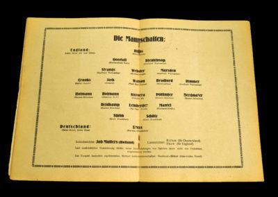 Germany v England 10.05.1930