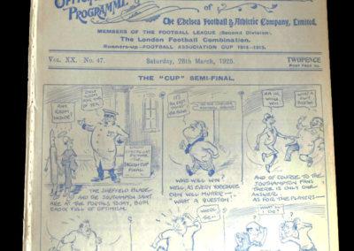 Southampton v Sheffield United 28.03.1925 - FA Cup Semi Final