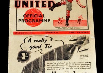 Man Utd v Everton 29.03.1939