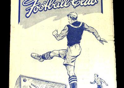 Arsenal v Burnley 27.09.1947