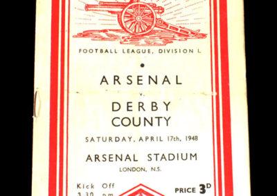 Arsenal v Derby 17.04.1948
