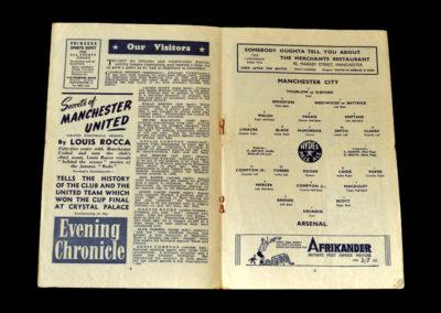 Arsenal v Man City 24.04.1948