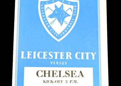 Chelsea v Leicester 21.08.1954