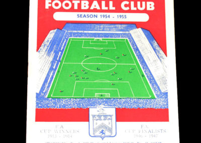 Chelsea v Burnley 31.08.1954