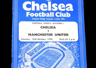 Chelsea v Man Utd 16.10.1954