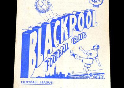 Chelsea v Blackpool 23.10.1954