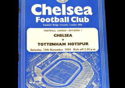 Chelsea v Spurs 13.11.1954
