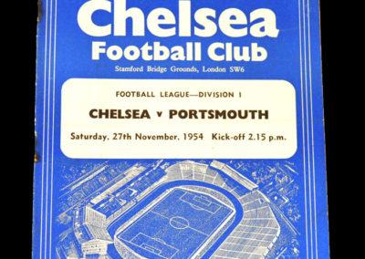 Chelsea v Portsmouth 27.11.1954