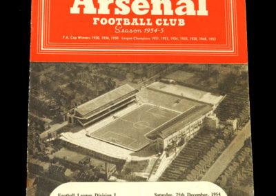 Chelsea v Arsenal 25.12.1954