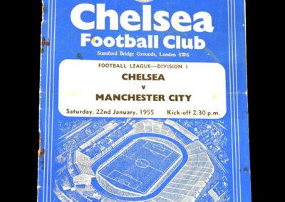 Chelsea v Man City 22.01.1955