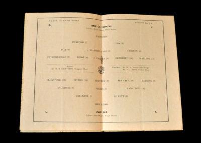 Chelsea v Bristol Rovers 29.01.1955