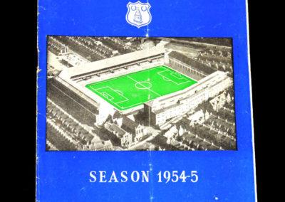 Chelsea v Everton 05.02.1955