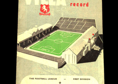 Chelsea v Aston Villa 05.03.1955