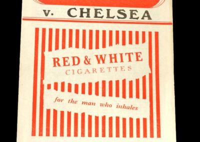 Chelsea v Charlton 19.03.1955