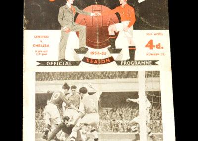 Chelsea v Man Utd 30.04.1955