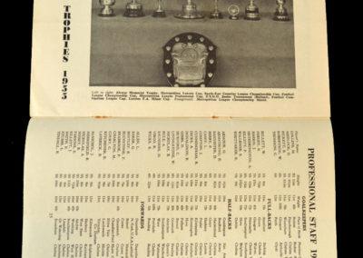 Chelsea v Bolton 20.08.1955 - 1st Home Game of 1955/56 Season - Champions Celebration Issue
