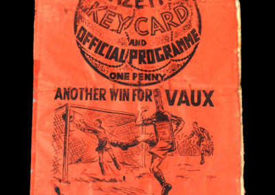 Middlesbrough v Bolton 07.01.1939 3rd rd 1-0