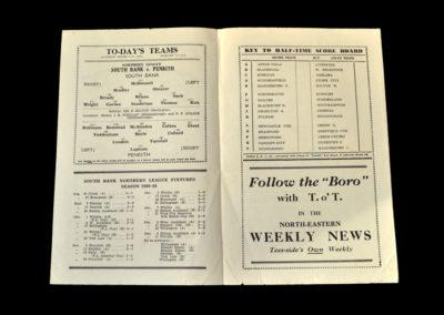 Stockton South Bank v Penrith 11.03.1950